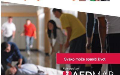 Nova mobilna aplikacija na hrvatskom jeziku za automatske defibrilatore